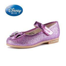 迪士尼童鞋2015 女童 皮鞋中童鞋大童兒童 公主鞋 品牌童鞋 紫色30~35 30碼