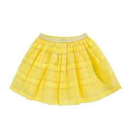 巴拉巴拉 女童公主風短裙中大童甜美半身裙2015夏裝 裙子 淺黃色 120