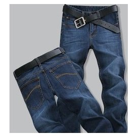 嘻哈超大號寬松牛仔褲胖胖牛仔長褲簡約加肥加大潮男滑板褲百搭