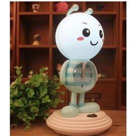 食尚 鬧鐘卡通小蜜蜂LED燈鬧鐘LED直插 節能小夜燈學生燈鬧鐘