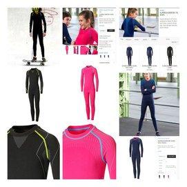外原PR滑雪兒童 內衣速干保暖套裝男女童款足球緊身衣褲套裝