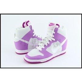 NIKE WMNS DUNK SKY HI 2.0 BR 白粉紫 網狀 內增高 楔型鞋 @725069-102
