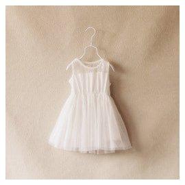 2015 夏女童寶寶背心連衣裙蛋糕裙婚紗蕾絲無袖公主裙