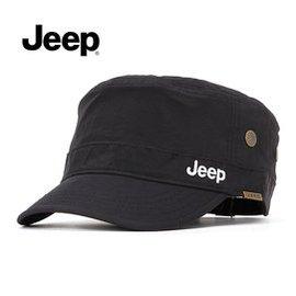 JEEP吉普專櫃正品防水速干帽子男士平頂帽戶外遮陽 太陽帽軍帽