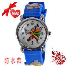 奧特曼咸蛋超人兒童卡通手表小男孩小學生精密防水玩具電子手表