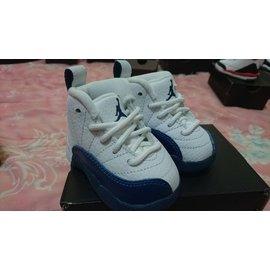 Yoon 全新 NIKE JORDAN 2c XII AJ12 白藍 法國藍 Baby 喬丹 嬰兒鞋 小鞋 學步鞋