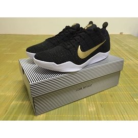 Yoon Nike Kobe 11 XI Elite Low GCR us9.5 黑金白