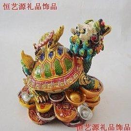 吉祥物擺設鎮宅擺件工藝 開業 ~龍龜進寶~