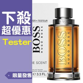 ~XNS~HUGO BOSS The Scent 紳士男性淡香水 100ml TESTER