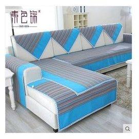 lu 老粗布沙發巾布藝 四季防滑沙發墊加厚全蓋沙發套
