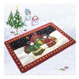 正韓 兒童地毯節日毯聖誕系列地墊 歐標 加厚進門入戶地毯 聖誕小屋 F35