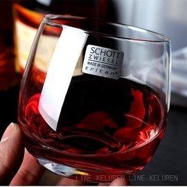 德國肖特SCHOTT 無鉛水晶杯 威士忌酒杯 飲料杯 平底洋酒杯 六組附盒裝