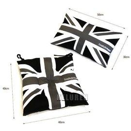 新品 BMW mini寶馬迷你 COOPER 黑灰米字旗坐墊 靠墊英國國旗汽車坐墊 抱枕