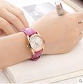 夜光 女表皮帶 潮流簡約學生防水手錶女孩時裝石英女士手錶