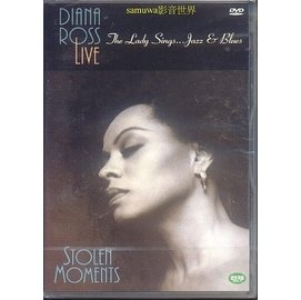 DVD^~戴安娜蘿絲 爵士演唱會Diana Ross Live ~ The Lady Si