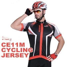 ~衣匠x3~~紅魔鬼競速款 吸濕排汗 全開式短袖自行車車衣~CE11M~零碼