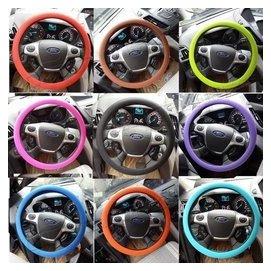 賓士BMW寶馬奧迪福斯大眾日產豐田本田汽車方向盤套 矽膠套 超薄 車載四季方向把套 防滑套