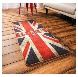 金典英倫風米字旗英國旗長條臥室 床邊 地毯 廚房地墊 複古做舊 門墊地墊長方形