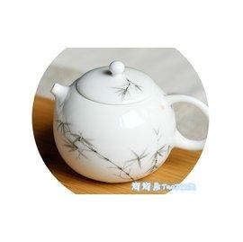 ~淘淘居~小西施茶壺陶瓷 過濾茶具景德鎮手繪白瓷迷你辦公家用泡茶