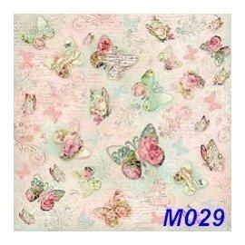 ^~丁媽蝶古巴特^~丁媽 M029 輕棉紙 餐巾紙 蝶古巴特 藝品 50^~50cm 一張