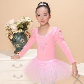 食尚  舞東方 兒童舞蹈演出服女童形體練功紗裙幼兒芭蕾表演蓬蓬裙