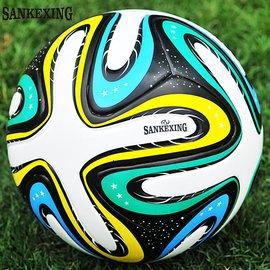 SANKEXING足球正品 2014世界 比賽杯足球 訓練5號球 PU皮