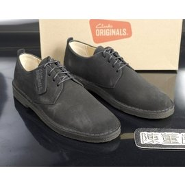 ~再見~Clarks Original Desert London 黑色 沙漠靴  US