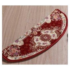 歐式免膠自粘腳墊踏步墊子防滑自吸樓梯保護地毯地墊樓梯墊 酒紅色 F9