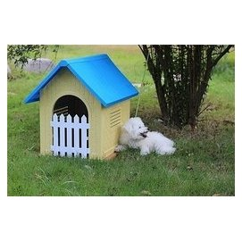 戶外狗籠犬舍塑料泰迪狗屋貓窩大號寵物狗窩可拆洗狗房子寵物用品 寵物用品