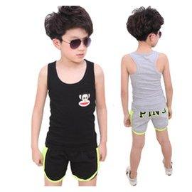 3兒 4男童套裝5 裝6小學生7夏天8無袖背心9男孩夏裝10歲潮