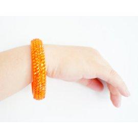 外貿原單絕版 亞克力糖果色彩色手鐲滿鑽燙鑽女生手鐲手鏈