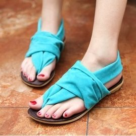 輕便人字拖 平跟平底女士夾腳夾拖舒適沙灘涼拖鞋學生鞋涼鞋潮