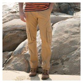 吉普猛士男裝特大碼加肥佬胖子人寬松 工褲中學生靚仔多袋長褲