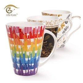 LifeEyes 杯子大容量馬克杯陶瓷牛奶杯骨瓷咖啡杯水杯包郵