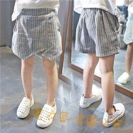 2016女童短褲 裙褲兒童豎條紋熱褲寶寶 超短褲夏裝