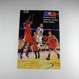 ~ ~NBA全明星 球星 科比喬丹詹姆斯韋德 海報8張裝貼紙壁畫 牆貼