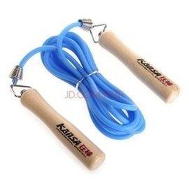 狂神木柄橡膠跳繩0321健身美體 旋轉不打結 顏色
