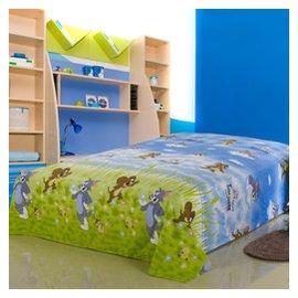 單人100^%純棉床單單品 全棉學生卡通單件床單 床上用品卡通單品