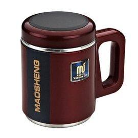 騎士304不鏽鋼真空保溫杯陶瓷內膽磁化杯男女士養生杯水杯子