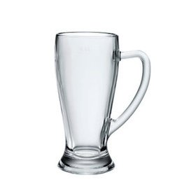 波米歐利()巴伐利亞夏天 杯具無鉛玻璃帶把啤杯子 668