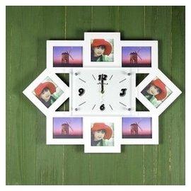 大號相框鐘  相框掛鐘 歐式田園簡約時鐘客廳鐘表靜音