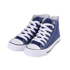 ~618大促~2015 籃球鞋學生男鞋高幫情侶男女生低幫帆布鞋056~3 藍色 39