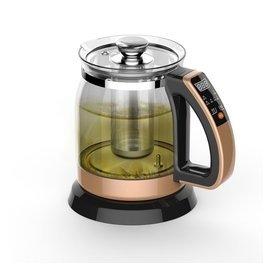 220V容威YS~H108養生壺電熱水壺多 煮茶器加厚玻璃全自動煮茶保