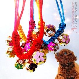 爆款純 編織景泰藍寵物項鏈鈴鐺 貓貓狗狗項鏈項圈 多色