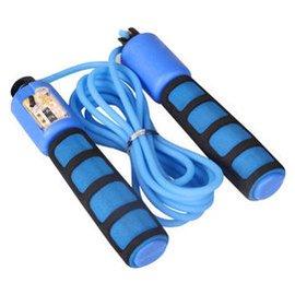 翔遊計數跳繩 耐磨加重跳繩可調節瘦身繩子 健身材 顏色 發貨