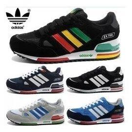 adidas 鞋zx700愛迪達鞋子三葉草ZX750休閒鞋赤足 匡威 喬丹6代 科比10代