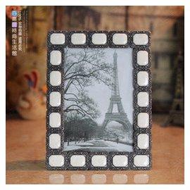 瘋搶金屬相框歐式畫框6寸兒童 結婚復古鋁合金相架