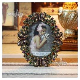 歐式金屬相框5寸像框出口錫合金工藝品美居裝飾品復古中國風