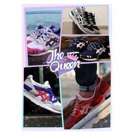 香港 亞瑟士asics 鞋跑步鞋 男女鞋 情侶鞋