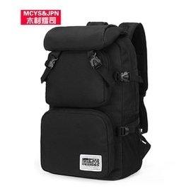 木村耀司雙肩包男背包大容量登山包旅行包15.6電腦包中學生書包女